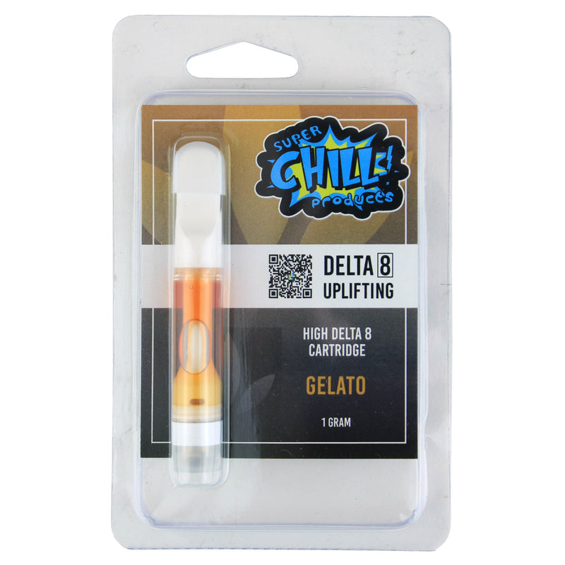 SUPER CHILL VAPE CARTRIDGES 1GM - DELTA 8