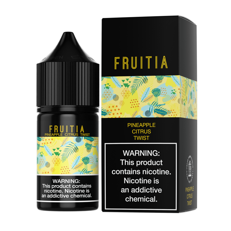 FRUITIA SALT 30ML - PINEAPPLE CITRUS TWIST