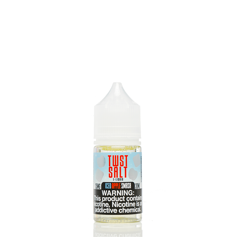 TWST SALT E-LIQUID 30ml - ICED APPLE SMASH