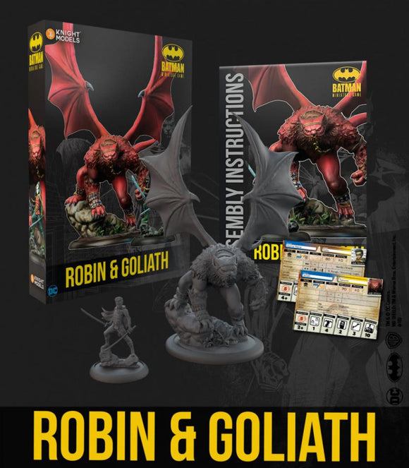 Batman Miniature Game Robin & Goliath