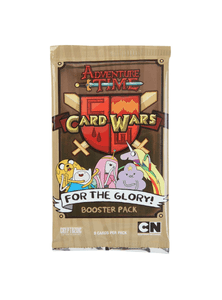 Card Wars For the Glory Adventure Time Booster Pack