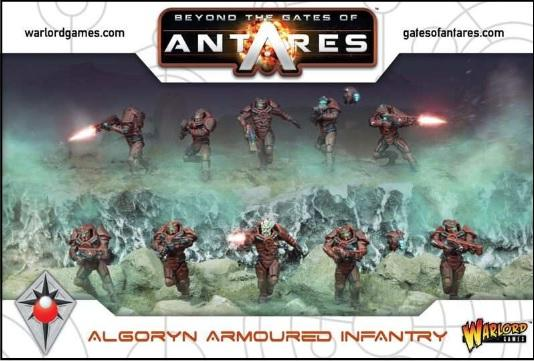 Algoryn Armoured Infantry Beyond the Gates of Antares