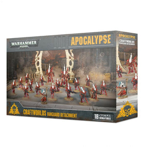 Apocalypse Craftworlds Vanguard Detachment