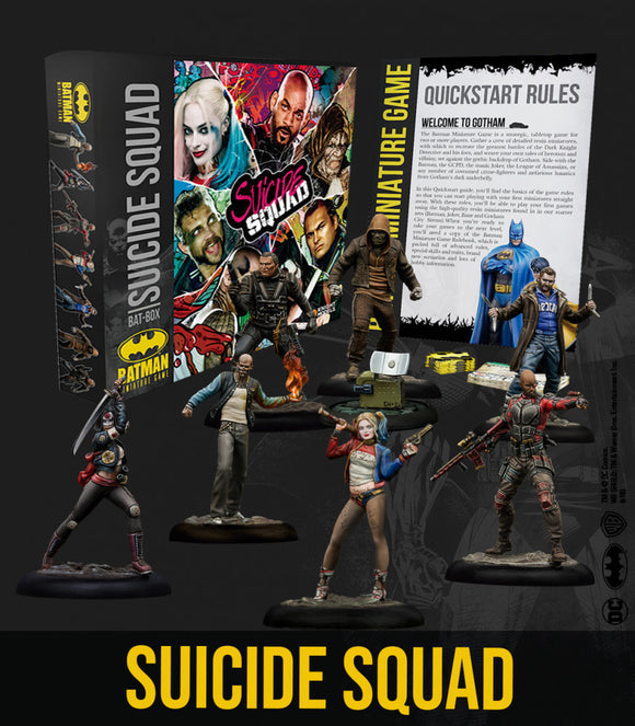 Batman Miniature Game Suicide Squad Bat-Box