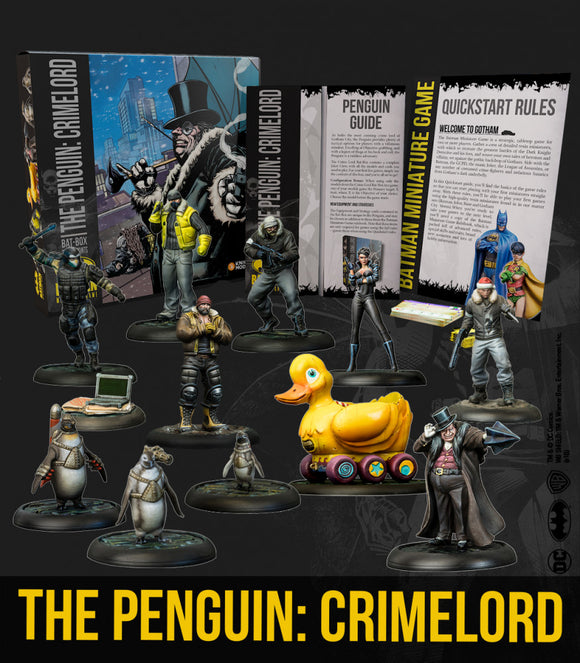 Batman Miniature Game The Penguin: Crimelord