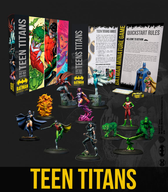 Batman Miniature Game Teen Titans Bat-Box