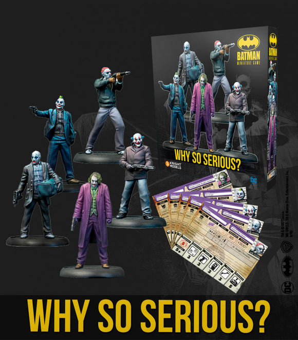 Batman Miniature Game Why So Serious?