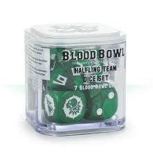 Blood Bowl Dice Set Halfling Team