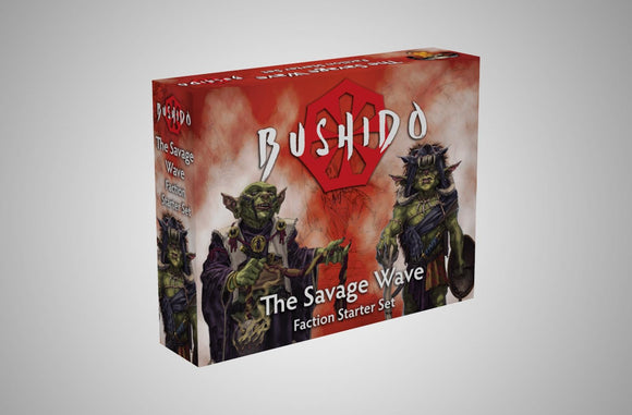 Bushido The Savage Wave Faction Starter