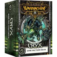Cryx 2016 Faction Deck Warmachine