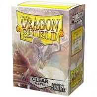 Dragon Shield Clear Matte Non Glare Card Sleeves