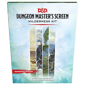 Dungeons & Dragons Dungeon Masters Screen Wilderness Kit