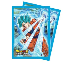 Dragon Ball Card Sleeves SSB Goku