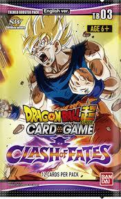 Dragon Ball SCG Booster Pack Clash of Fates TB03