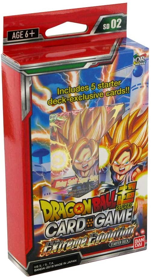 Dragon Ball SCG Extreme Evolution Starte