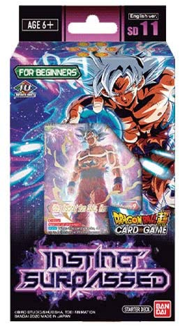 Dragon Ball SCG Instinct Surpassed Start