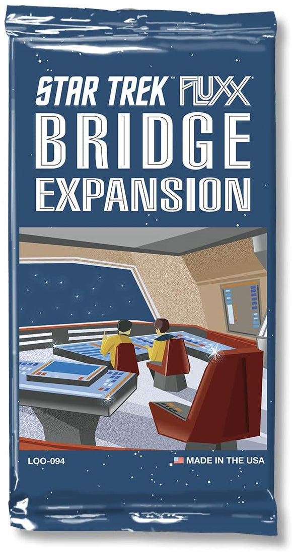 Fluxx Star Trek Bridge Expansion
