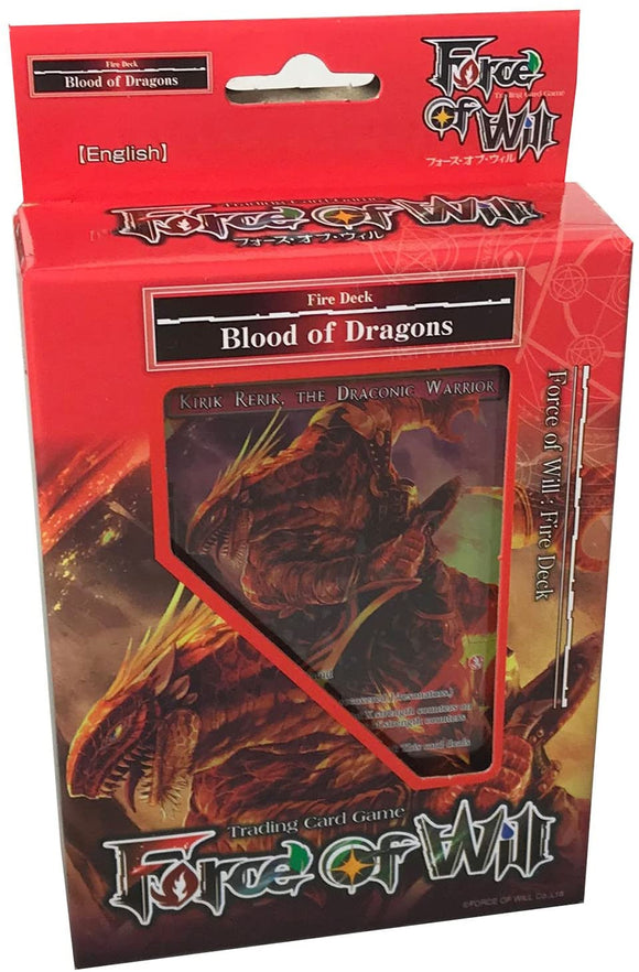 Force Of Will Blood Of Dragons
