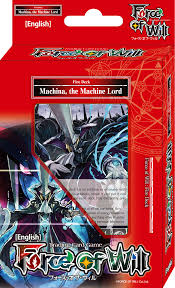 Force Of Will Machina, The Machine Lord Starter Deck