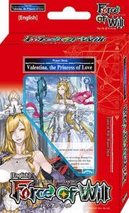 Force Of Will Valentina, The Princess Of Love Starter Deck