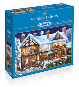 Midnight Delivery Jigsaw Puzzle