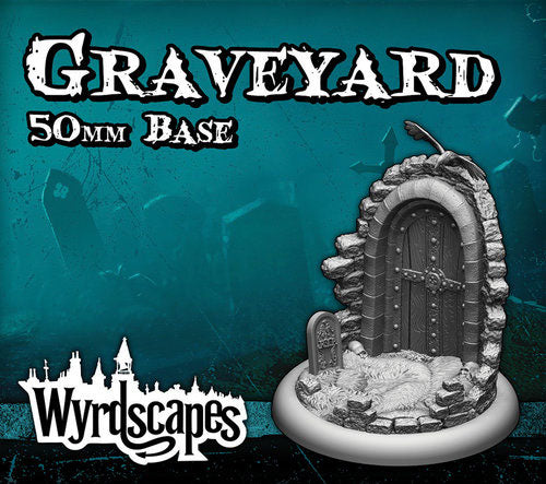 Graveyard 50 mm Base