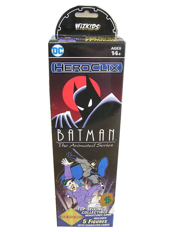 HeroClix Booster Batman The Animated Ser