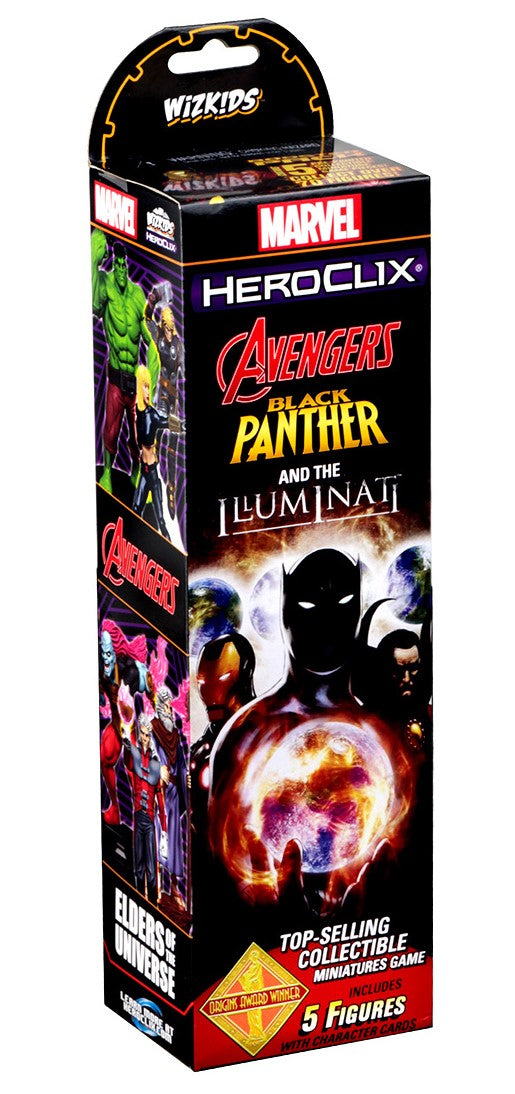 HeroClix Booster Pack Avengers Black Panther & the Illuminati