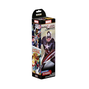 HeroClix Booster Captain America & The Avengers