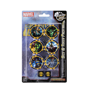 HeroClix Dice & Token The Infinity Watch