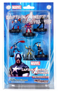 HeroClix Fast Forces Captain America & The Avengers