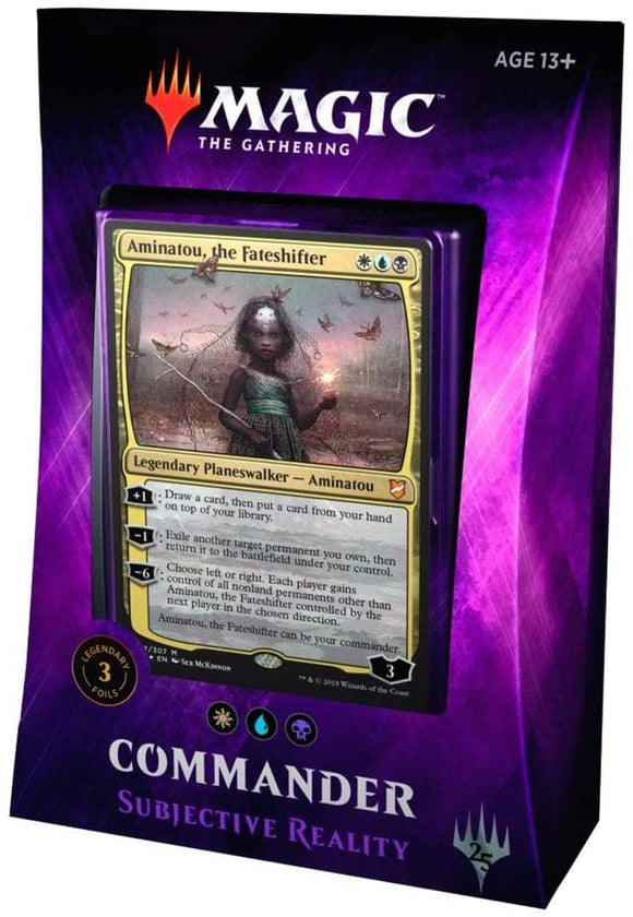 Magic the Gathering Commander Subjective Reality