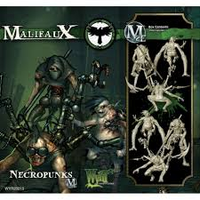 Malifaux 2E Necropunks