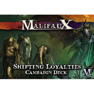 Malifaux 2E Shifting Loyalties Campaign Deck