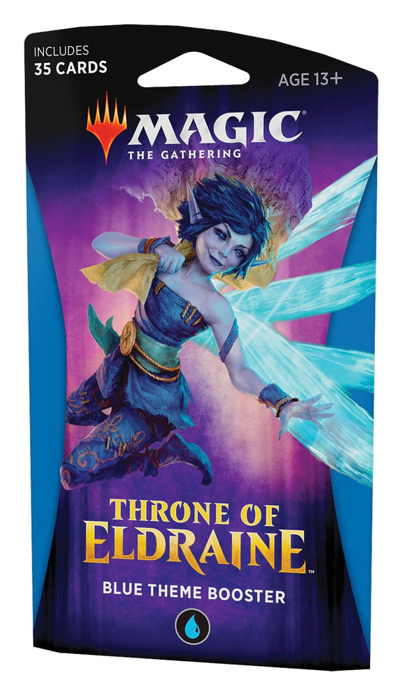 Magic the Gathering: Throne of Eldraine Blue Theme Booster