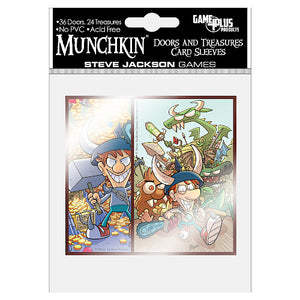 Munchkin Doors & Treasures Card Sleeves
