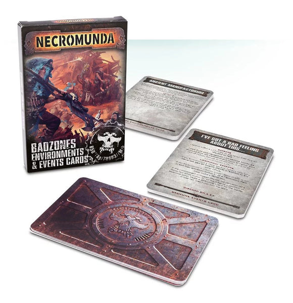 Necromunda Badzones Environments & Event