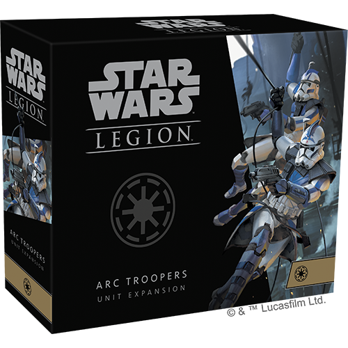 Star Wars Legion ARC Troopers Unit Exp