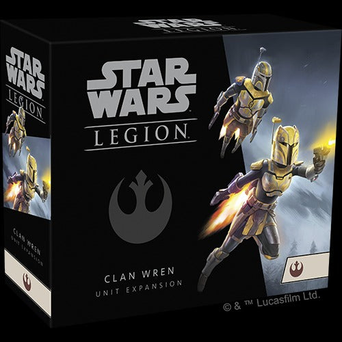 Star Wars Legion Clan Wren Unit Exp