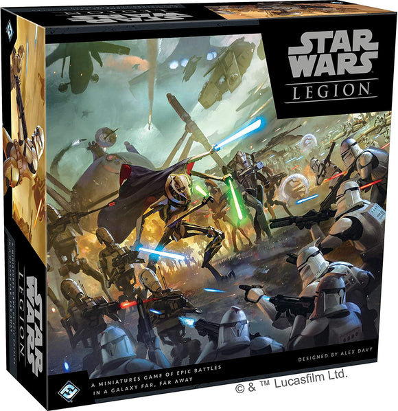 Star Wars Legion Core Clonewars
