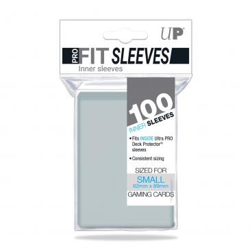 Clear Small Pro-Fit Sleeves