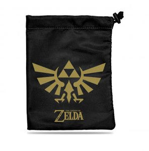 Dice Bag Zelda Black & Gold Treasure Nest