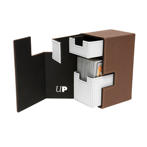 Brown & White Ultra Pro M2.1 Deck Box