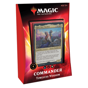 Magic the Gathering Commander Timeless Wisdom