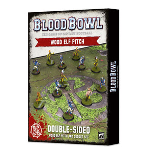 Wood Elf Pitch Blood Bowl
