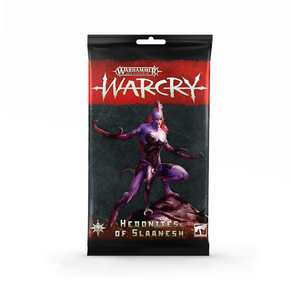Warcry Hedonites of Slaanesh Card Pack