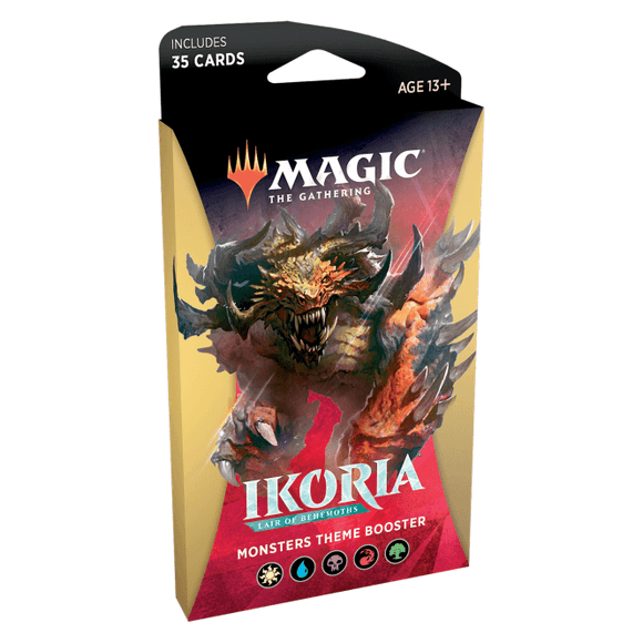 Magic the Gathering Monster Theme Booster Ikoria Lair of Behemoths