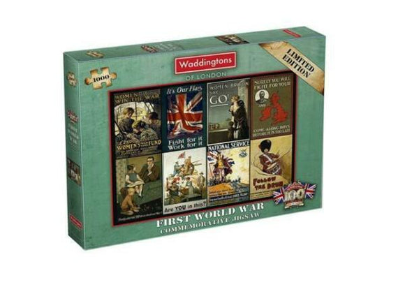 King and Country Commemorative Puzzle