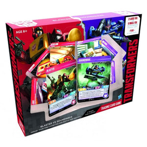 Transformers TCG Blaster vs Soundwave Starter Set