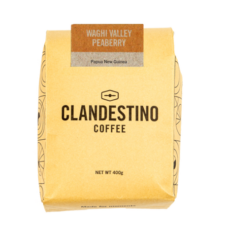 Waghi Valley Peaberry Clandestino Coffee